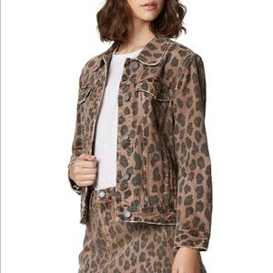 BLANK NYC CHEETAH PRINT JACKET